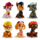 Mini Paw Patrol Toppers Pk/6