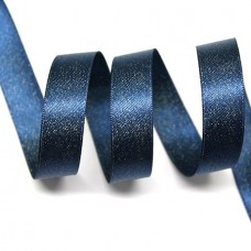 15mm Navy Sparkle Ribbon
