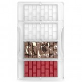 Decora Chocolate Mould - Brick Bars