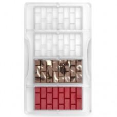 Decora Chocolate Mould - Brick Bars