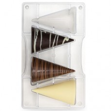Decora Chocolate Mould - Cones