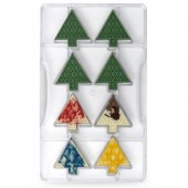 Decora Chocolate Mould - Fir Trees