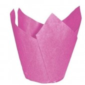 Pink Tulip Muffin Wraps Pk/200