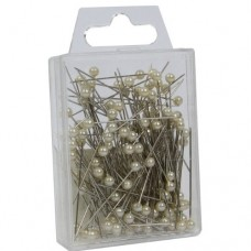 Ivory Pearl Top Pins Pk/144
