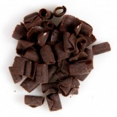 Dobla Belgian Chocolate Curls - Dark 200g