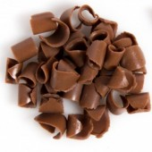 Dobla Belgian Chocolate Curls - Milk 200g