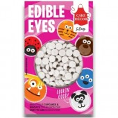 Cake Decor Edible Eyes Pk/60