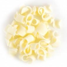 Dobla Belgian Chocolate Curls - White 200g