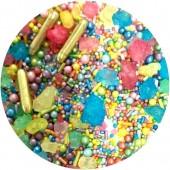 Rainbow Geode Sprinkle Mix 100g