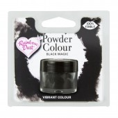 Rainbow Dust Powder Colour - Black Magic