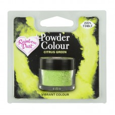 Rainbow Dust Powder Colour - Citrus Green