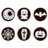 Belgian Chocolate Halloween Discs Box/150