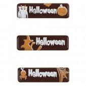 Belgian Chocolate Halloween Plaques Box/100
