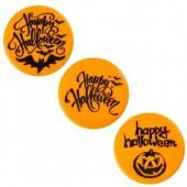 Belgian Chocolate Round Halloween Discs Box/75