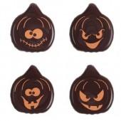 Belgian Chocolate Pumpkin Faces Box/175
