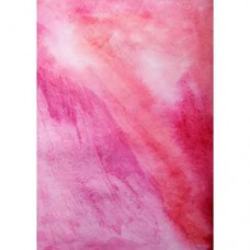 Pink Watercolour Wafer Paper Sheets Pk/3