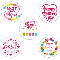 Mother's Day Cupcake Toppers - 15 x 2""