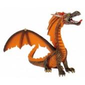 Orange Sitting Dragon