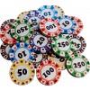 Chocolate Casino Chips Pk/15
