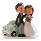 "WEDDING COUPLE ""JUST MARRIED CAR"""