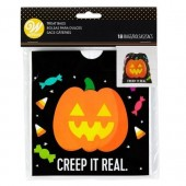 Wilton Drawstring Pumpkin Treat Bags Pk/18