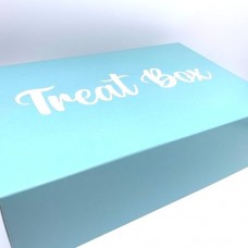 Aqua Treat Cupcake Boxes 6's