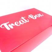 Red Treat Cupcake Box 6's