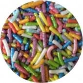 Glimmer Rainbow Sugar Strands 80g