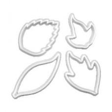 FMM Creative Leaf Cutters Set/4