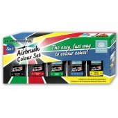 Squires Professional Airbrush Food Colour Set 1