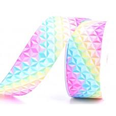 25mm Coloured Diamond Ribbon