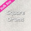 Square Cake Drums