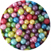 4mm Rainbow Mix Glimmer Pearl 80g
