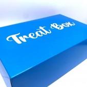 Royal Blue Treat Box Cupcake Box 6's
