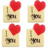 Belgian Chocolate I Love You Decorations Box/120