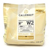 400g Callebaut Belgian White Chocolate 28%
