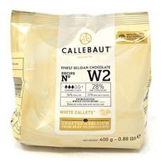 400g Callebaut Belgian White Chocolate 28%