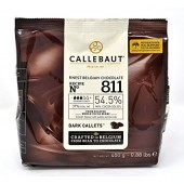 400g Callebaut Belgian Dark Chocolate 54%