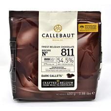400g Callebaut Belgian Dark Chocolate 54%
