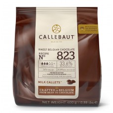 400g Callebaut Belgian Milk Chocolate 33%
