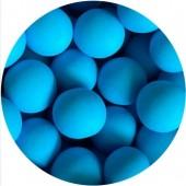 10mm Matt Turquoise Choco Balls 80g