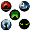 """Spooky Halloween Cupcake Toppers - 15 x 2"""""""