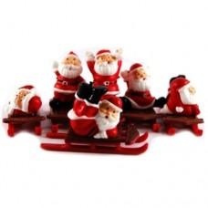 Santa's on Sleighs Pk/6
