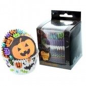 Baked with Love Trick or Treat Halloween Buncases Pk/100