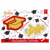 Decora Graduation Cookie Cutters
