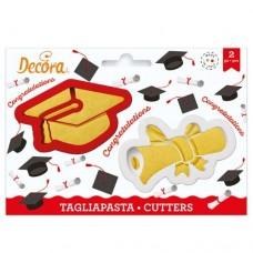 Decora Graduation Cookie Cutters