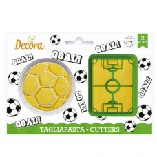 Decora Goal Cookie Cutters