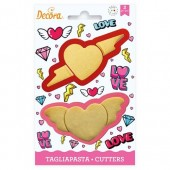 Decora Love Cutters Set/2