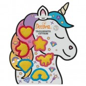 Decora Unicorn Mini Cookie Cutters
