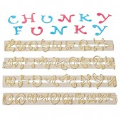 FMM Chunky Funky Alphabet Tappits